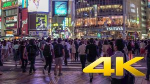 Walking-around-Shibuya-by-night-Tokyo-渋谷-4K-Ultra-HD