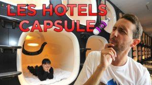 Les hôtels capsule