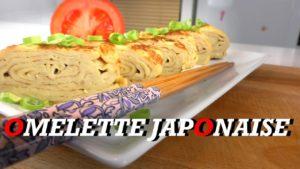 Recette japonaise : omelette japonaise