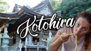 Kotohira-udon-vieux-théâtre-kabuki-et-Konpira-san-『Kagawa』