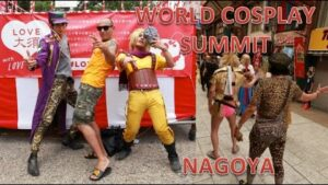 WORLD-COSPLAY-SUMMIT-DE-NAGOYA-SLIP-ROSE-ET-CANICULE-